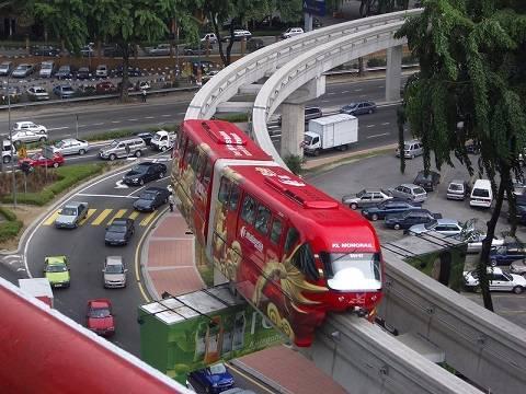 Transportation in Malaysia - Kuala Lumpur Train