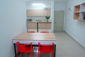 LEA Accommodation- Dining Area