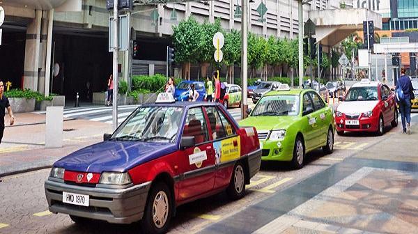 Taxi Station Kuala lumpur