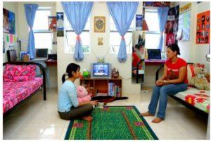 Infrastructure University Kuala Lumpur Accommodation - Twin Sharing Room