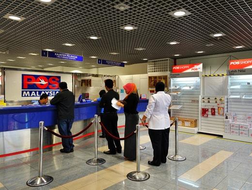 Postal service in Malaysia
